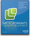 Microformats Book Cover